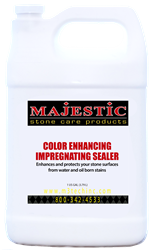 Color Enhancing Impregnating Sealer enhance, enhancing, seal, sealer, marble, limestone, travertine, granite, stone, natural, wet, look, stain, inhibiting, repel, repellent, protection, protect, color, colored, solvent, based, care, products, impregnating, impregnator, penetrating