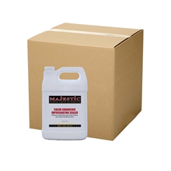 Color Enhancing Impregnating Sealer (Case/4 Gal.) enhance, enhancing, seal, sealer, marble, limestone, travertine, granite, stone, natural, wet, look, stain, inhibiting, repel, repellent, protection, protect, color, colored, solvent, based, care, products, impregnating, impregnator, penetrating, case