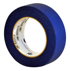 Blue Painter Masking Tape 1 1/2 inch  tape, blue, masking, crepe backing, protection, painters,